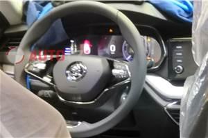 Next-gen Skoda Octavia interiors leaked ahead of debut