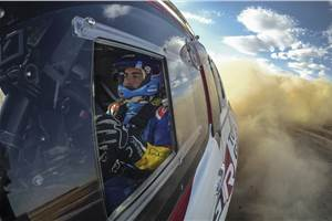 Alonso undertaking Dakar Rally testing programme with Toyota
