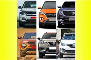 Kia Seltos vs rivals: Specifications comparison