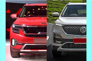 Kia Seltos vs MG Hector: Price and variants comparison