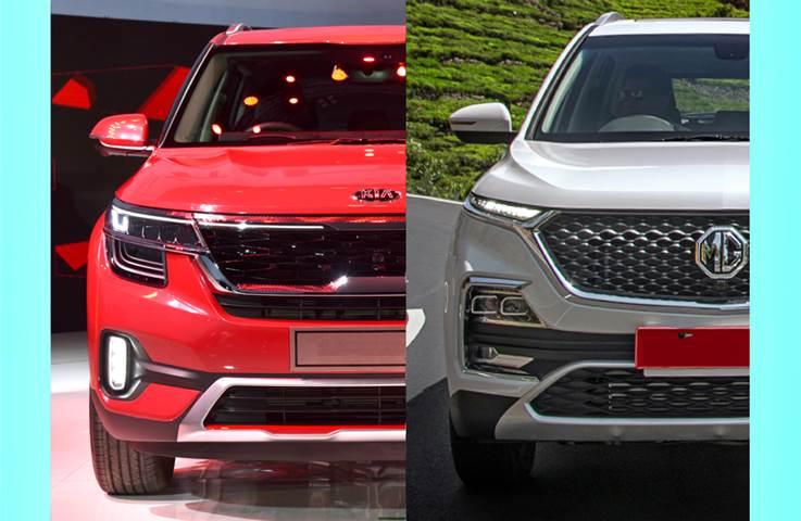 Kia Seltos vs MG Hector: Price and variants comparison