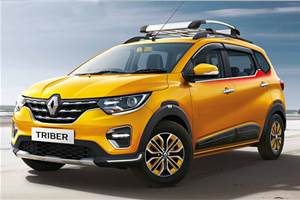 Renault Triber official accessories revealed
