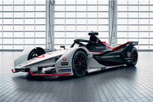 Porsche reveals 99X Electric Formula E racer