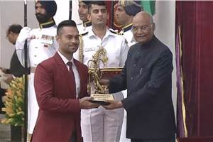 Gaurav Gill becomes first motorsport athlete to win Arjuna Award