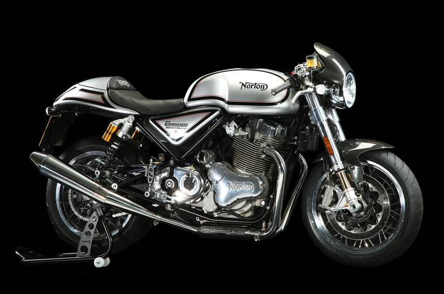 Norton Commando 961 Cafe Racer - image used for representative purpose.