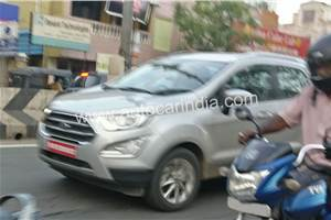 Ford EcoSport BS6 road testing begins