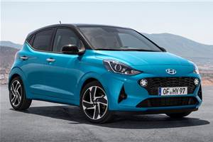 2020 Euro-spec Hyundai i10 revealed ahead of Frankfurt debut