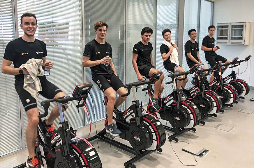 Like all racing drivers, Renault Sport Academy drivers ar...