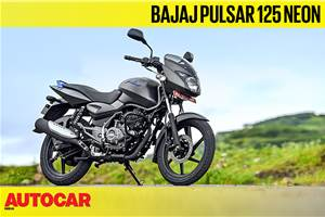 Bajaj Pulsar 125 Neon video review