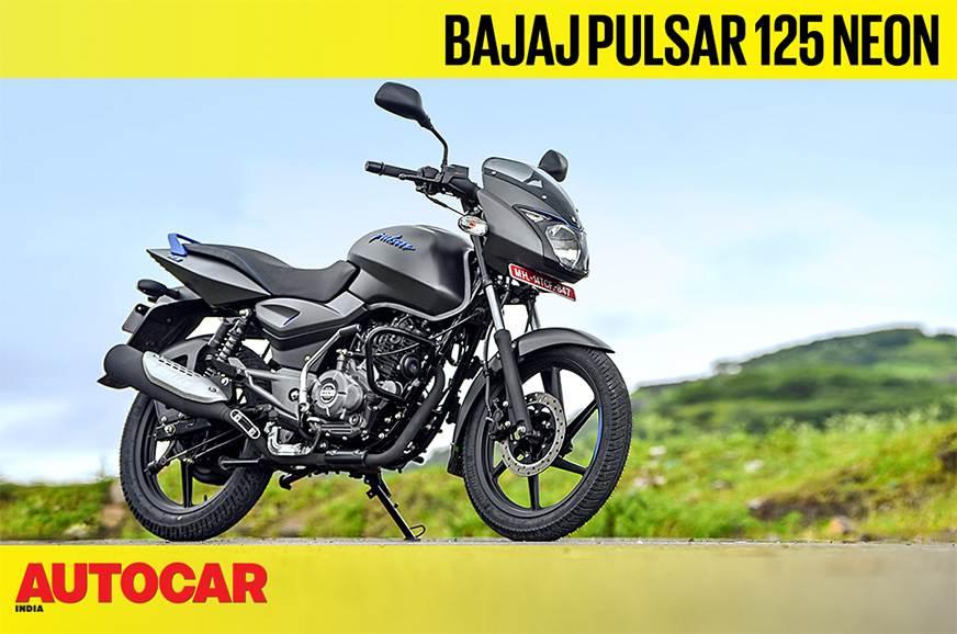 Bajaj Pulsar 125 Neon video review