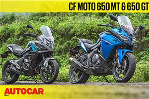 2019 CFMoto 650MT,  650GT video review