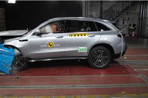 Mercedes-Benz EQC awarded 5-star Euro NCAP safety rating