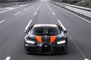 Bugatti Chiron reaches 490kph top speed