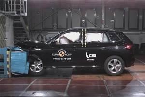 Skoda Kamiq achieves 5-star rating in Euro NCAP crash tests