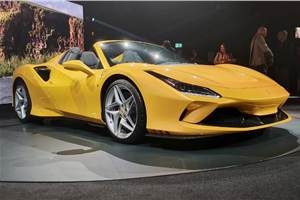 Ferrari F8 Spider revealed