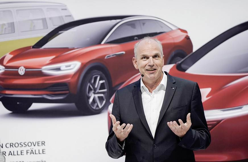 Jurgen Stackmann, VW's head of sales, marketing and after sales.