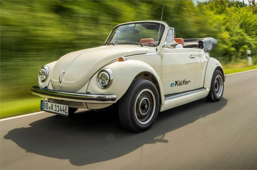 Volkswagen Beetle gets electric conversion kit