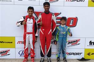 JK Tyre National Karting Championship: Umashankar, Alva clinch top honours in X-30 class