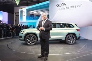 Skoda boss surprised at Indian market downturn