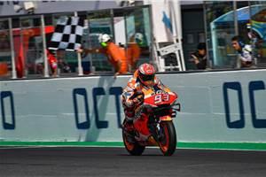 San Marino MotoGP: Marquez beats Quartararo in last lap duel