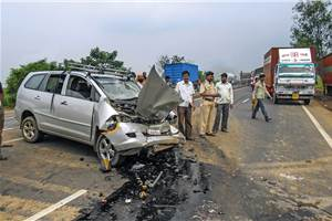 Non-usage of seatbelts noted in 64 percent of fatal accidents on Mumbai-Pune Expressway