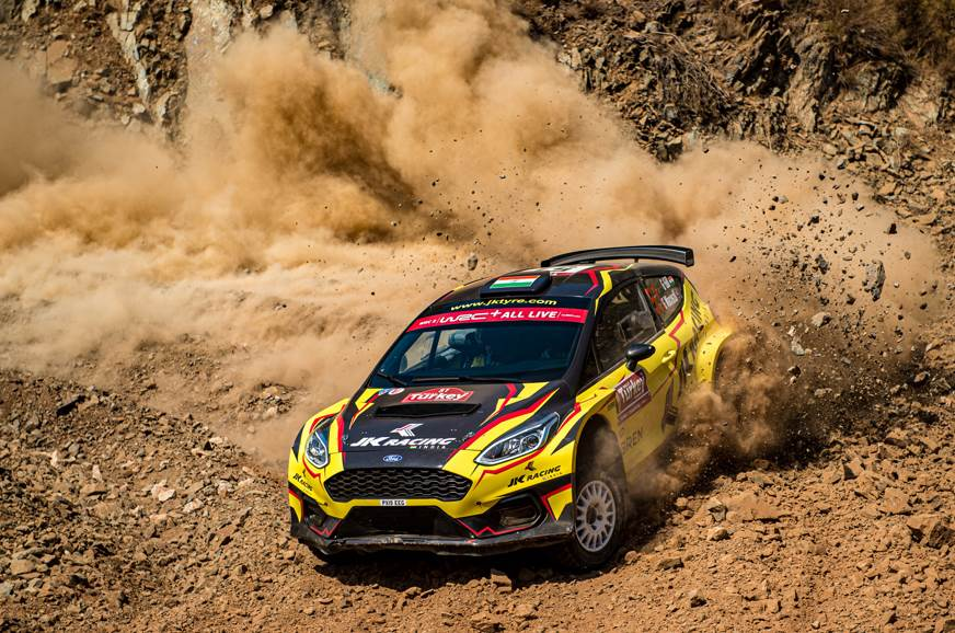 Mechanical issues end Gill's Rally of Turkey run