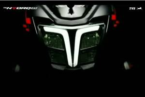 Refreshed TVS Ntorq 125 teased ahead of unveil