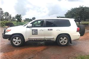 Toyota 5 Continents Drive Project enters India