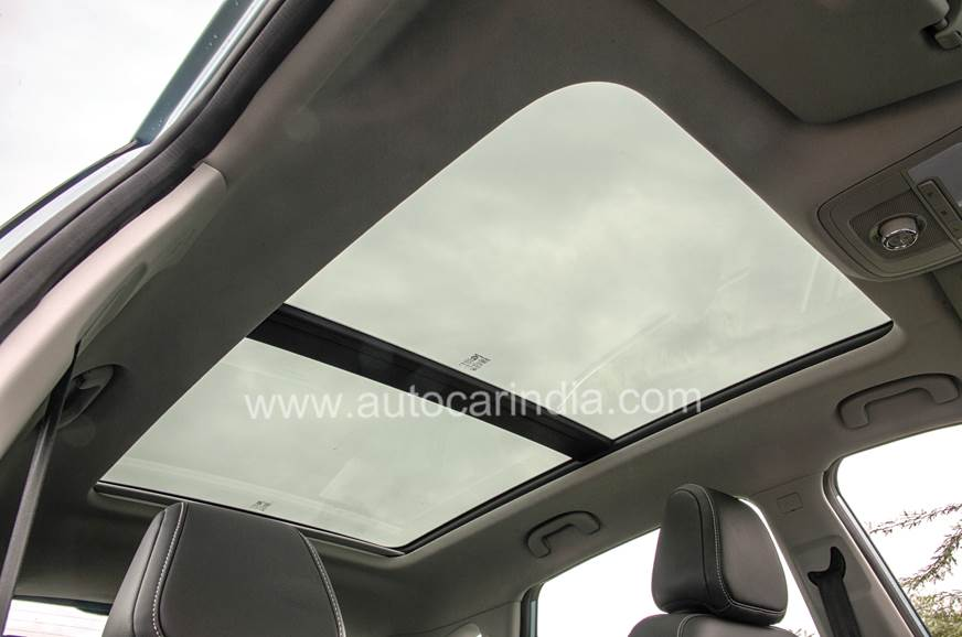 The panoramic sunroof is likely to be a big draw.