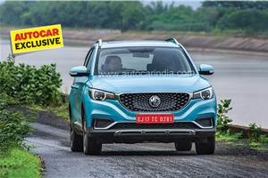 MG ZS EV prototype review, test drive