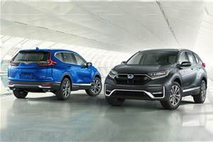 Honda CR-V facelift revealed
