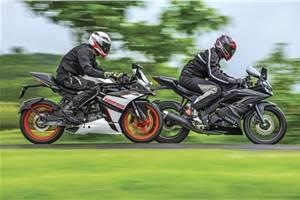 KTM RC 125 vs Yamaha YZF-R15 V3.0 comparison