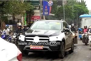 Next-gen Mercedes-Benz GLE spied in India