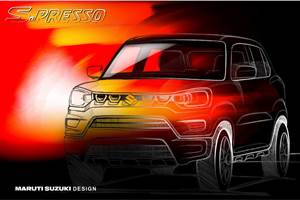 Maruti Suzuki S-Presso teased ahead of September 30 launch