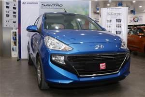 Hyundai Santro gets benefits up to Rs 70,000