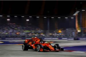 2019 Singapore GP: Vettel celebrates first win in over a year