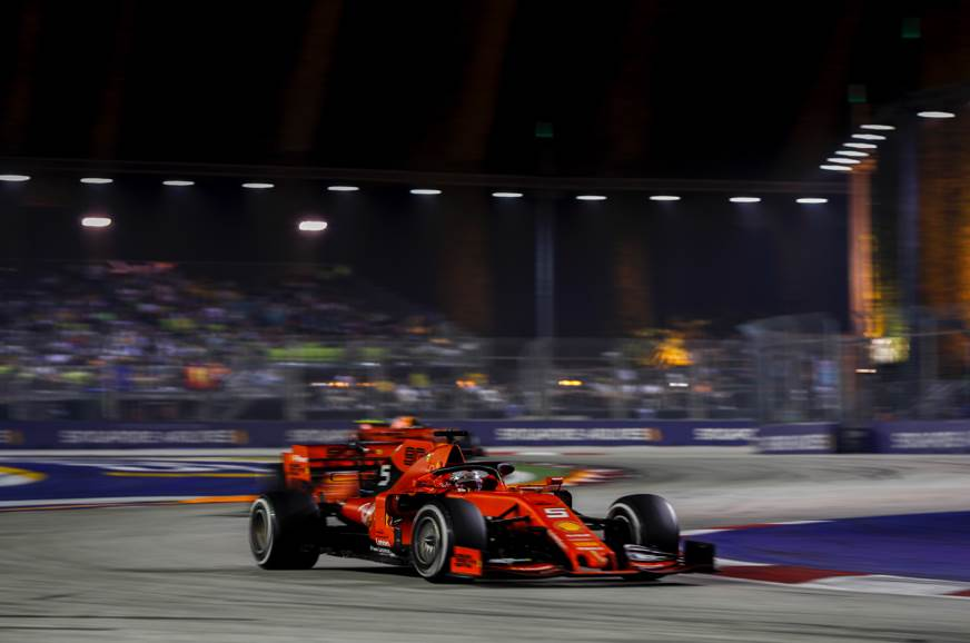 2019 Singapore GP: Vettel celebrates first win in over a ...