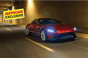 2019 Aston Martin Vantage India review, test drive