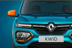 Renault Kwid facelift first image released