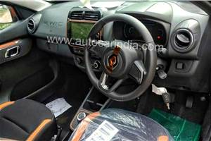Renault Kwid facelift interior revealed ahead of launch