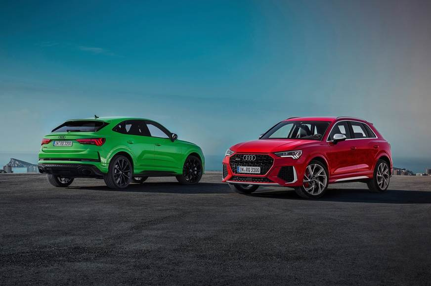 New Audi RS Q3, RS Q3 Sportback revealed