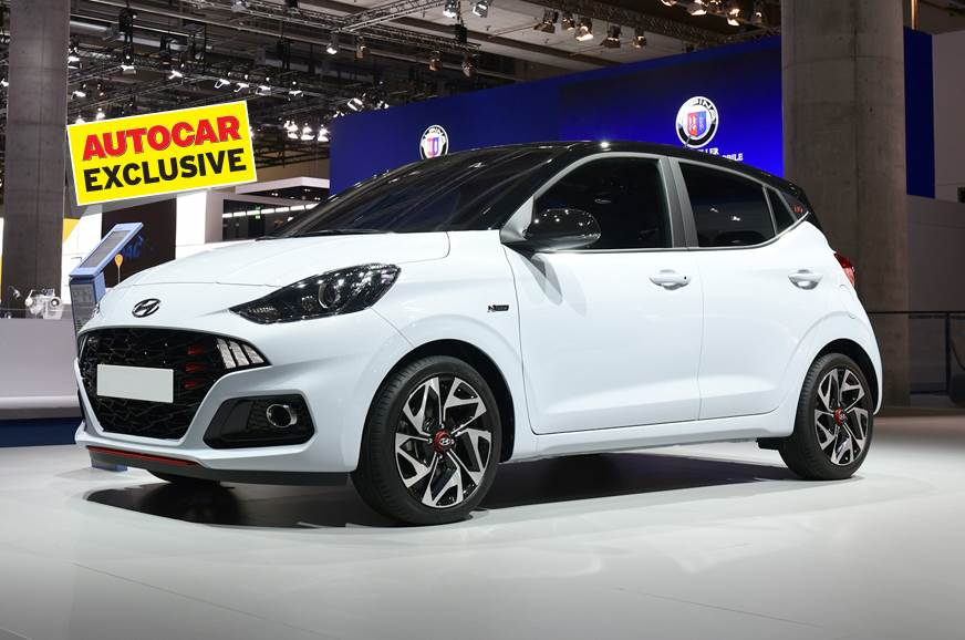 International-spec Hyundai i10 N Line used for representation only.