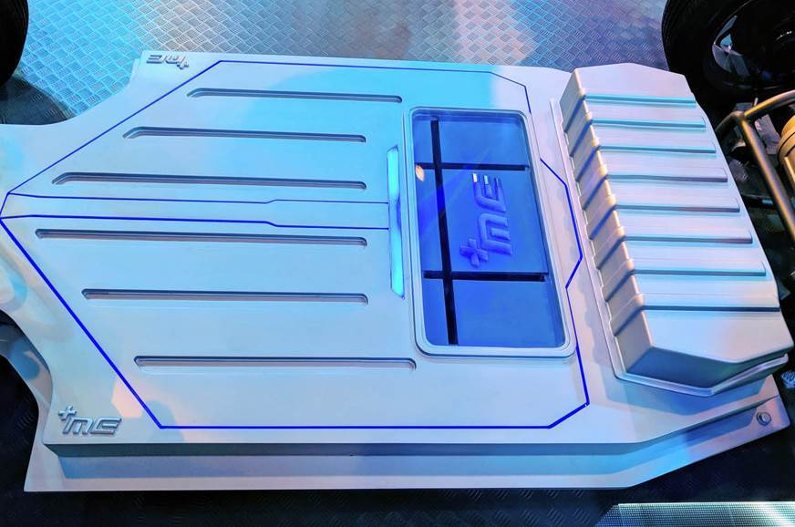 New electric platform revealed by Mahindra at Auto Expo 2...