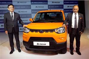 2019 Maruti Suzuki S-Presso launched at Rs 3.69 lakh
