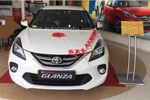 Toyota Glanza sales cross 11,000 units