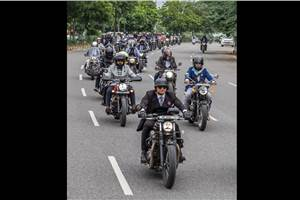Triumph Motorcycles India conducts 6th edition of the Distinguished Gentleman's Ride