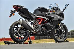 TVS Apache RR 310 gets free road side assistance