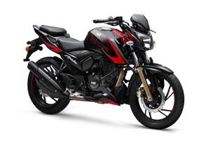 TVS Apache RTR 200 4V with Bluetooth connectivity launched at Rs 1.14 lakh