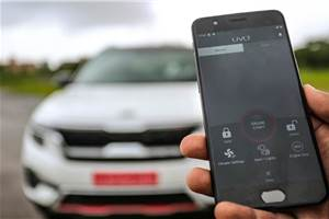 Kia Seltos' UVO Connect powered by Vodafone SIM