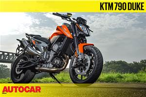 KTM 790 Duke video review